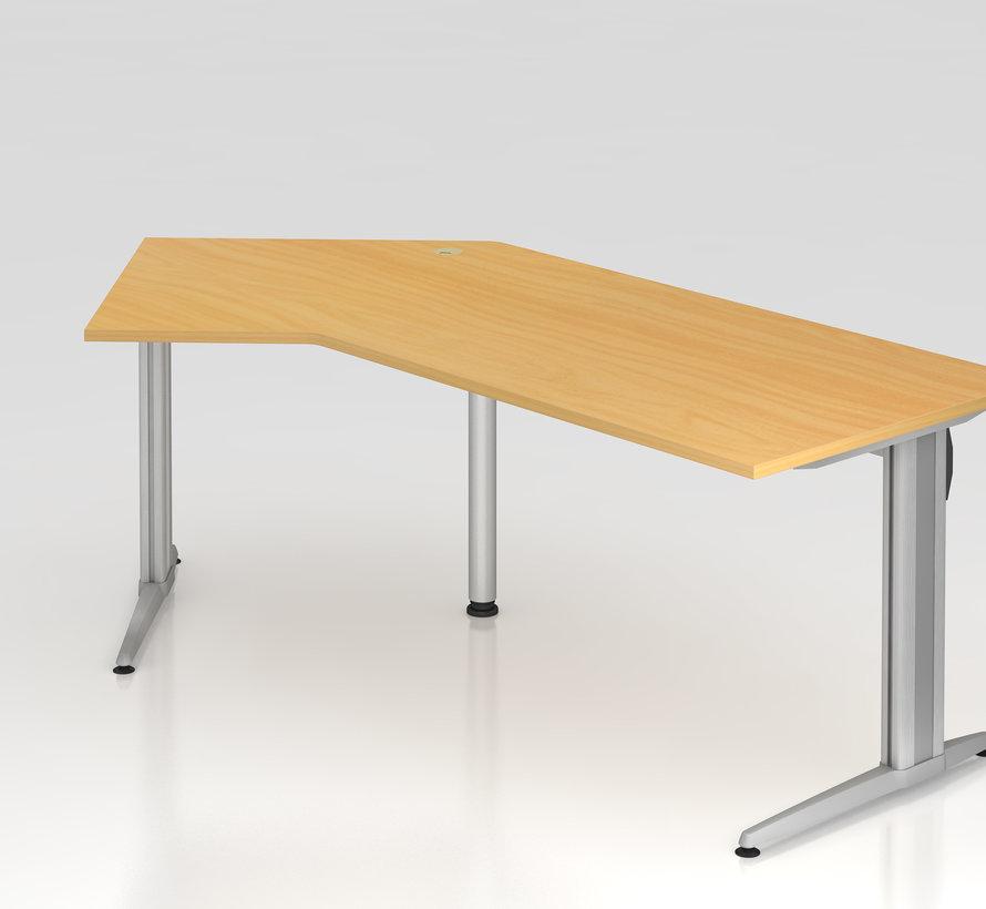 Schreibtisch XS 210 x 113 cm in 7 Farbvarianten