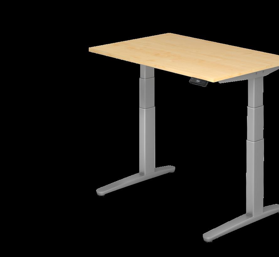 Schreibtisch XBH elektrisch höhenverstellbar 120 x 80 cm in Silber und in 7 Farbvarianten