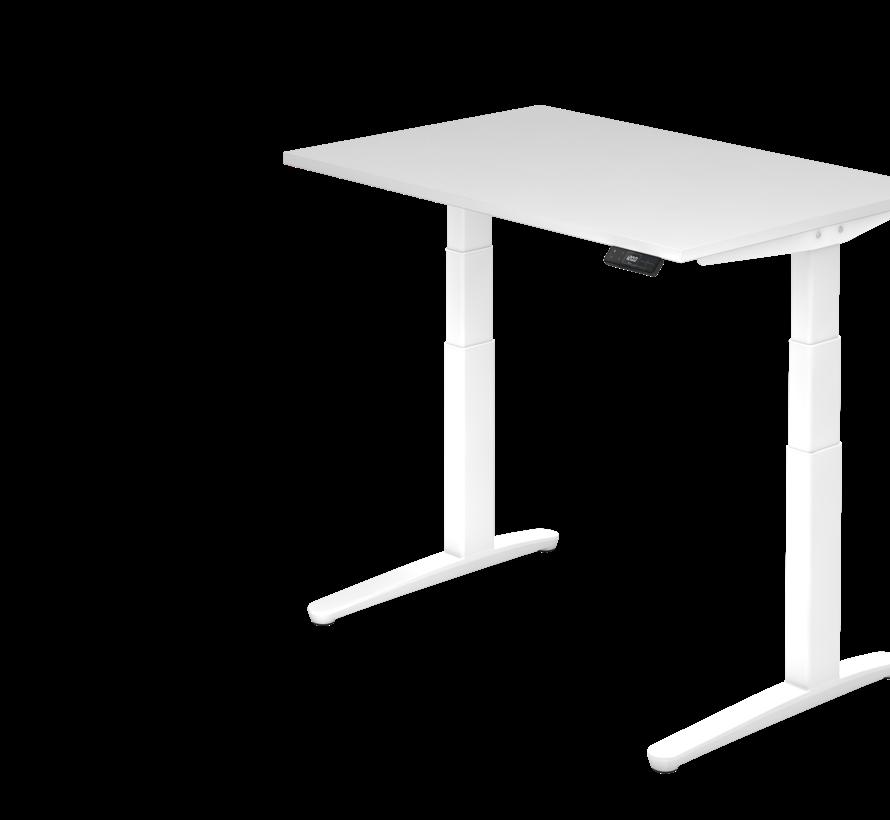 Schreibtisch XBH elektrisch höhenverstellbar 120 x 80 cm in Weiß und in 7 Farbvarianten