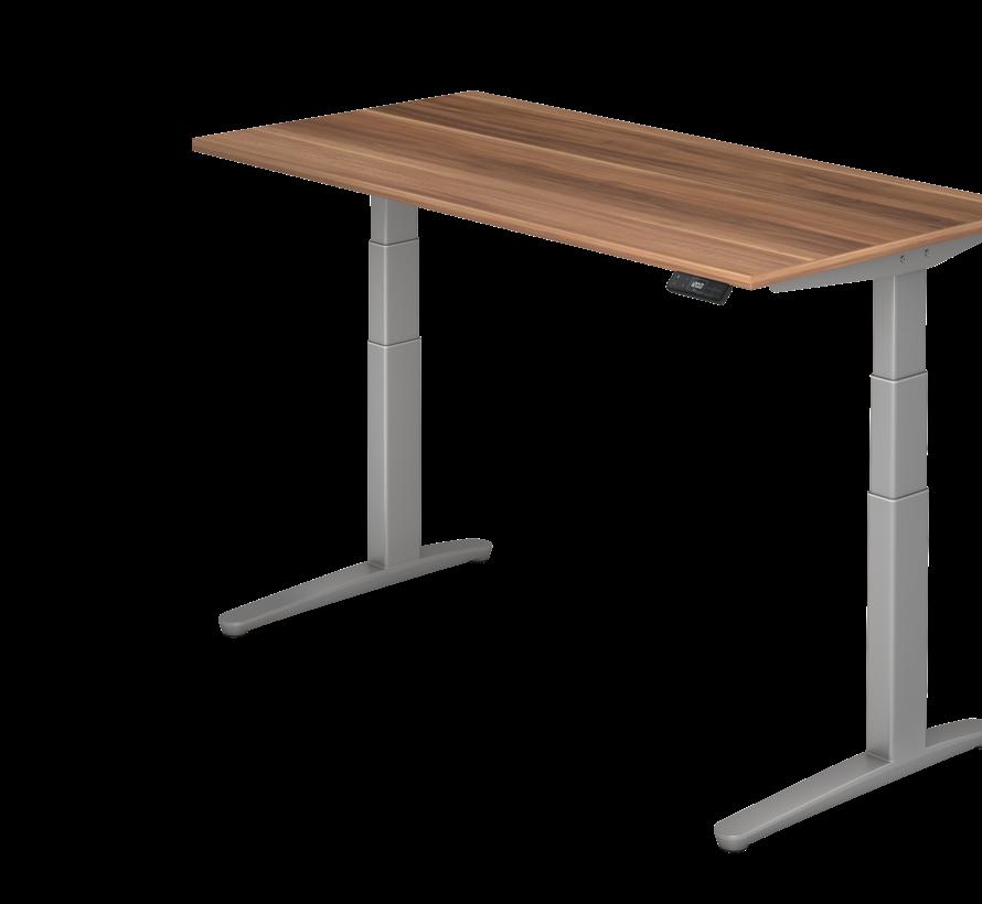 Schreibtisch XBH elektrisch höhenverstellbar 160 x 80 cm in Silber und in 7 Farbvarianten
