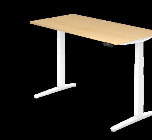 Serie HB Schreibtisch XBH elektrisch höhenverstellbar 160 x 80 cm in Weiß und in 7 Farbvarianten