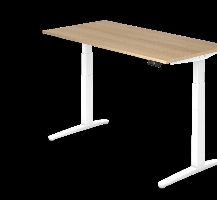 Schreibtisch XBH elektrisch höhenverstellbar 160 x 80 cm in Weiß und in 7 Farbvarianten