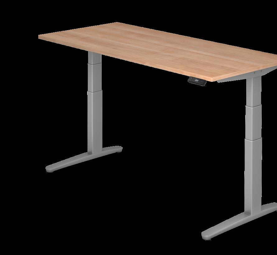 Schreibtisch XBH elektrisch höhenverstellbar 180 x 80 cm in Silber und in 7 Farbvarianten