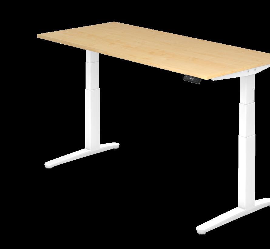 Schreibtisch XBH elektrisch höhenverstellbar 180 x 80 cm in Weiß und in 7 Farbvarianten