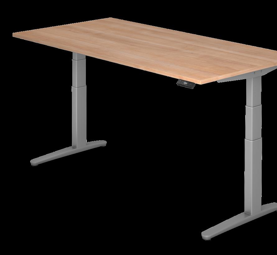 Schreibtisch XBH elektrisch höhenverstellbar 180 x 80 cm in Graphit/Graphit und in 7 Farbvarianten