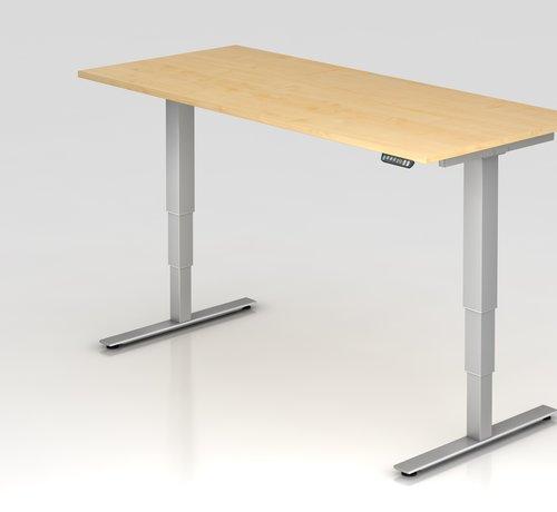 Serie HB Schreibtisch XDSM mit Memory Schalter 180 x 80 cm in Silber und in 7 Farbvarianten