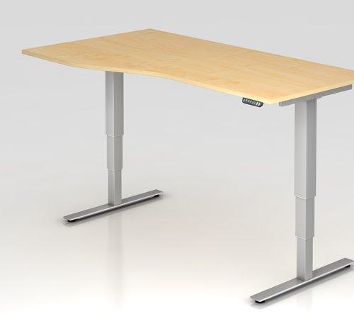 Serie HB Schreibtisch XDSM mit Memory Schalter 180 x 100 cm in Silber und in 7 Farbvarianten