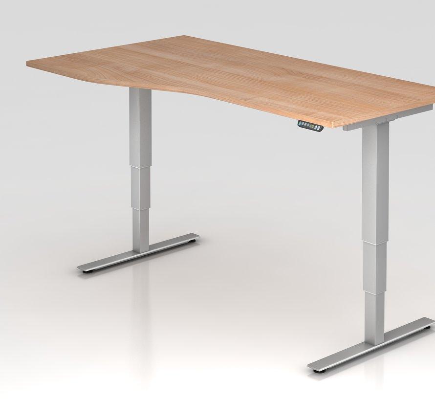 Schreibtisch XDSM mit Memory Schalter 180 x 100 cm in Silber und in 7 Farbvarianten
