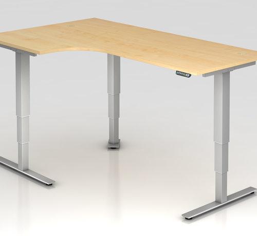 Serie HB Schreibtisch XDSM mit Memory Schalter 200 x 120 cm in Silber und in 7 Farbvarianten