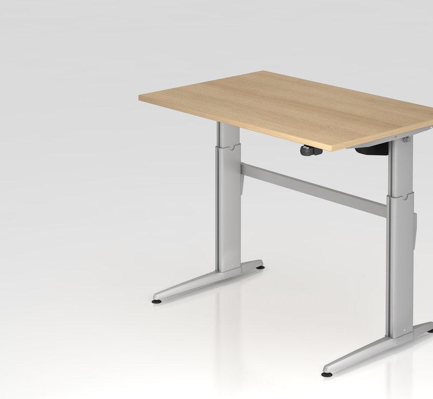 Schreibtisch XE  120 x 80 cm in Silber  und in 7 Farbvarianten