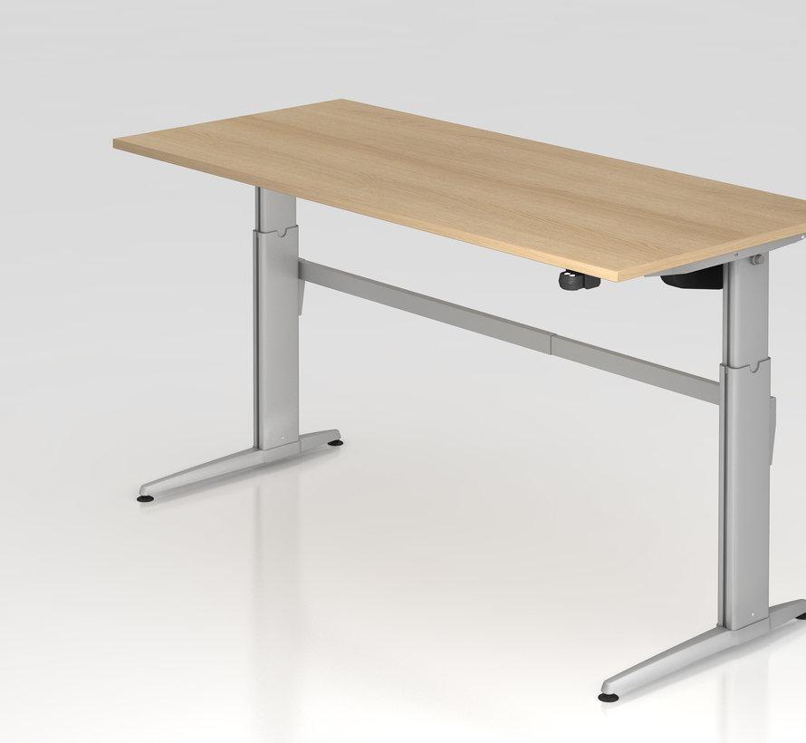 Schreibtisch XE  180 x 80 cm in Silber und in 7 Farbvarianten