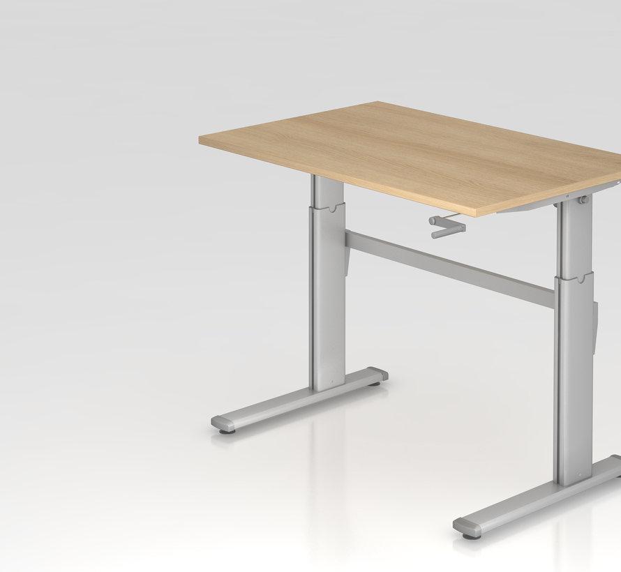 Schreibtisch XK  120 x 80 cm in Silber und in 7 Farbvarianten