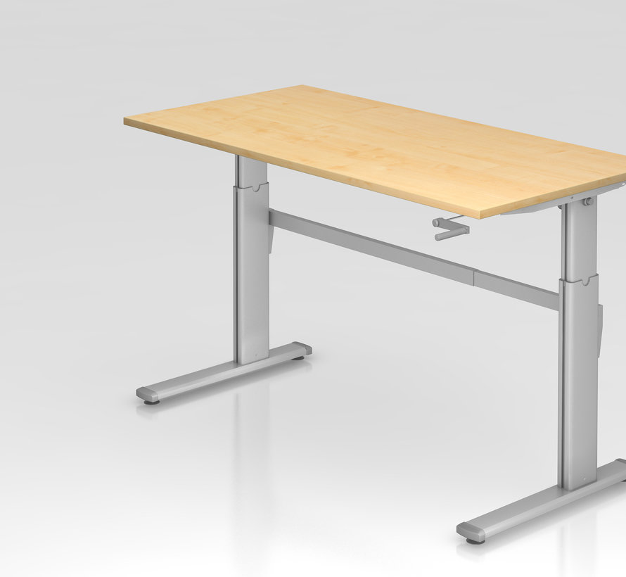 Schreibtisch XK 160 x 80 cm in Silber und in 7 Farbvarianten