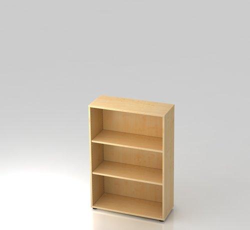 Serie HB - Schrank- und Tischkombination für Büro oder Praxis  Schrankwandsystem Standard 3OH ohne Flügeltüren und in 5 verschiedenen Farbvarianten