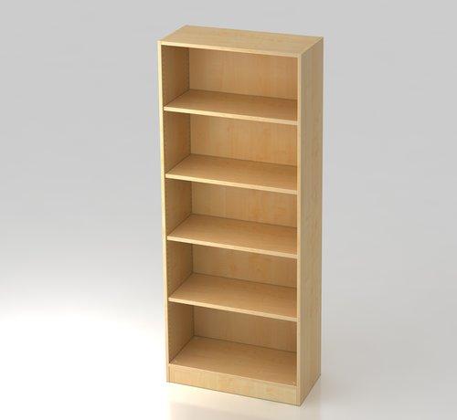Serie HB - Schrank- und Tischkombination für Büro oder Praxis  Schrankwandsystem 5 OH in 5 verschiedenen Farbvarianten
