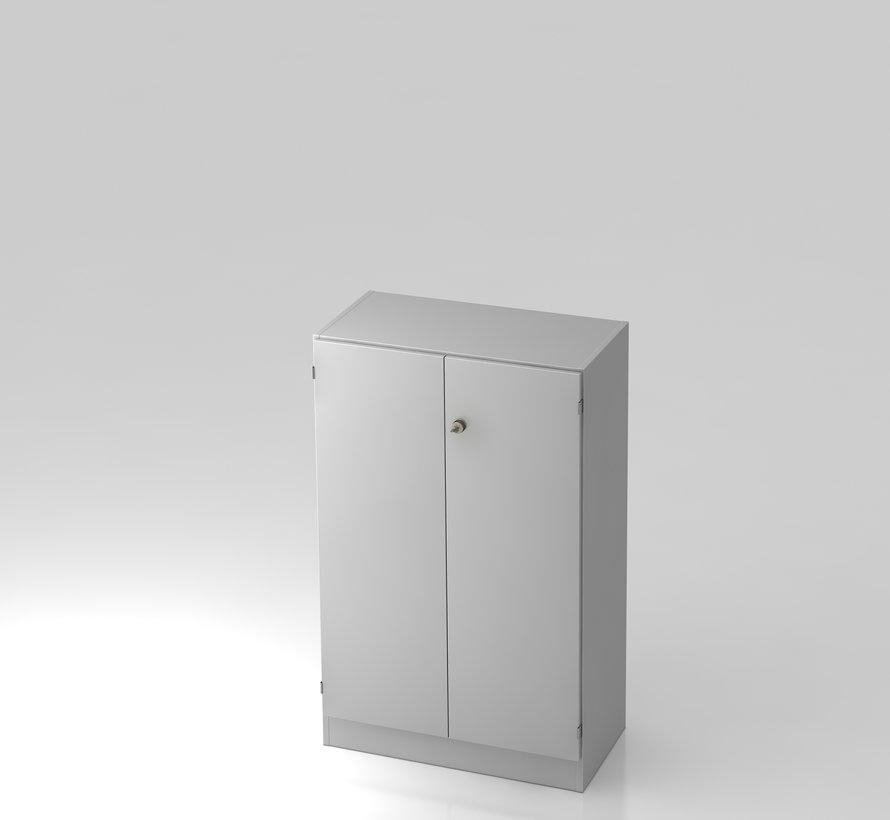 Schrank 3 OH abschließbar, 80 x 42 x 127 cm in 5 verschiedenen Farbvarianten