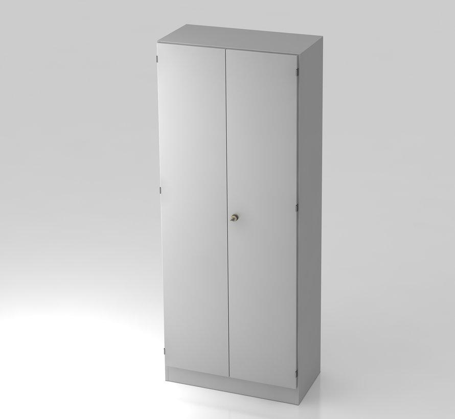 Schrank 5 OH abschließbar, 80 x 42 x 200,4 cm in 5 verschiedenen Farbvarianten