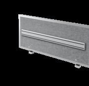 Serie HB Akkustik-Trennwand + Orga-Schiene mit Halterung