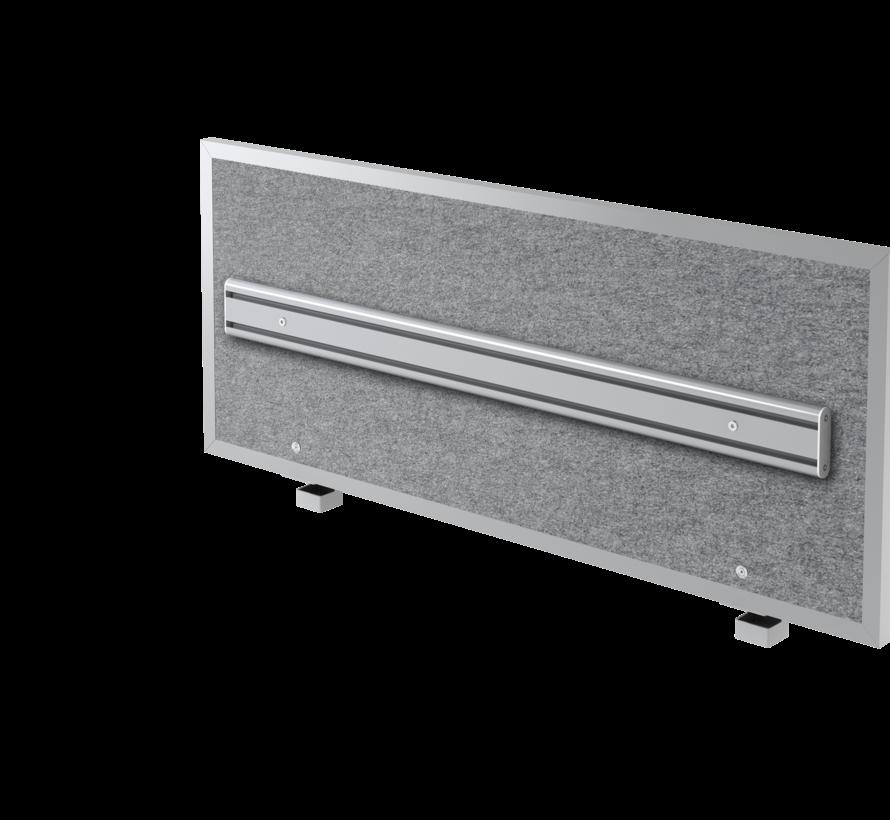 Akkustik-Trennwand + Orga-Schiene mit Halterung in 3 verschiedenen Größen