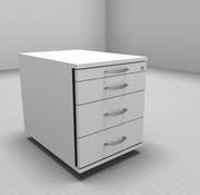 Serie MA Rollcontainer 60cm tief - 4 Schubladen