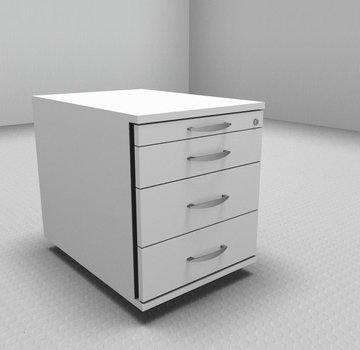 Serie MA - Empfangstheken für Ihren Empfangsbereich Rollcontainer 60cm tief - 4 Schubladen
