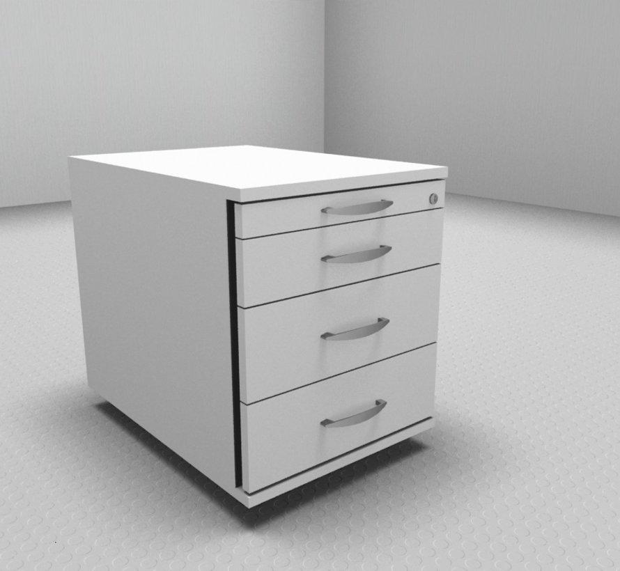Hochwertiger Rollcontainer Serie MA  - 4 Schubladen 1-2-3-3