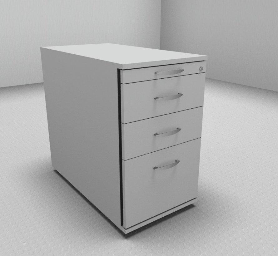 Hochwertiger Hängeregister-Standcontainer 80cm tief mit 3 Schubladen 1-2-2-6
