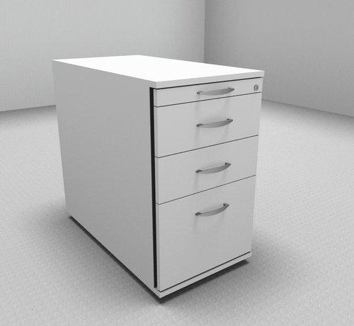 Serie MA  Hochwertiger Hängeregister-Standcontainer 80cm tief mit 3 Schubladen 1-2-2-6