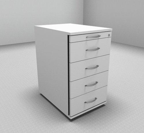 Serie MA  Hochwertiger Standcontainer 60cm tief Serie MA  - 5 Schubladen 1-3-3-3-3