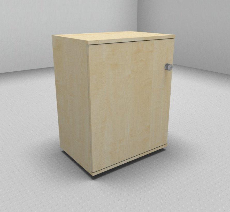 Hochwertiger Drehtürenschrank mit 2 Ordnerhöhen, 60cm breit