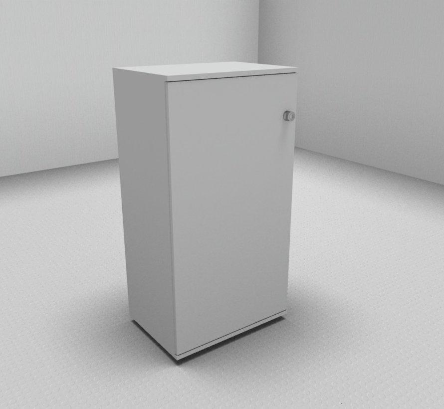 Hochwertiger Drehtürenschrank mit 3 Ordnerhöhen, 60cm breit