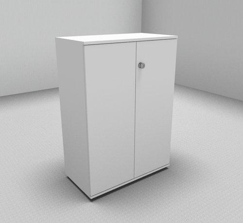 Serie MA  Hochwertiger Drehtürenschrank mit 3 Ordnerhöhen, 80cm breit