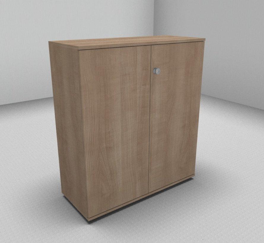 Hochwertiger Drehtürenschrank mit 3 Ordnerhöhen, 100cm breit