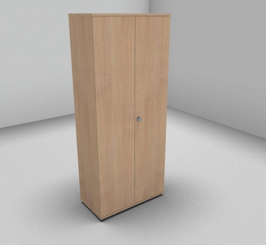 Hochwertiger Drehtürenschrank mit 5 Ordnerhöhen, 80cm breit