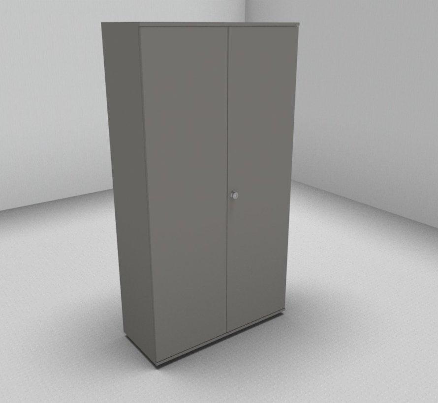Hochwertiger Drehtürenschrank mit 5 Ordnerhöhen, 100cm breit