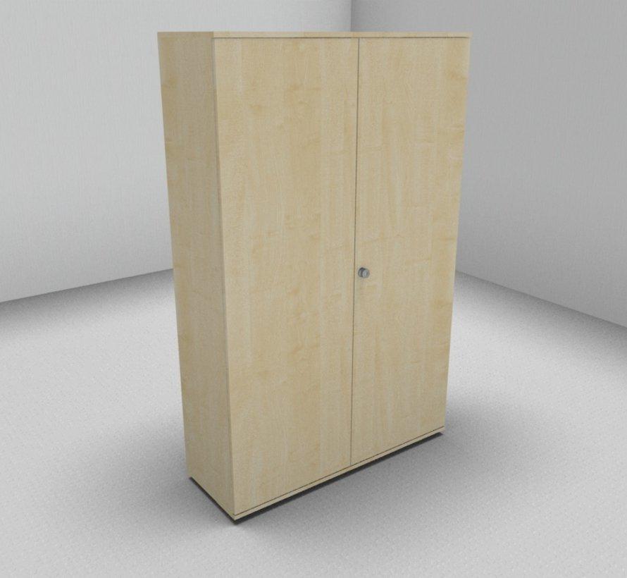 Hochwertiger Drehtürenschrank mit 5 Ordnerhöhen, 120cm breit