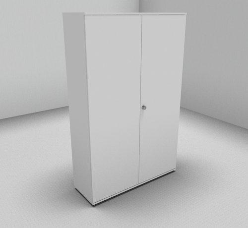 Serie MA Hochwertiger Drehtürenschrank mit 5 Ordnerhöhen, 120cm breit