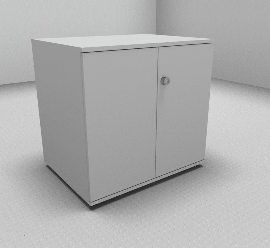 Hochwertiger Druckerschrank mit 2 Ordnerhöhen, 80cm breit , 60cm tief