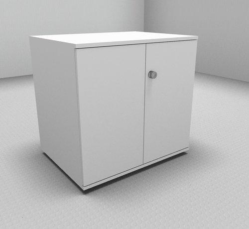 Serie MA  Hochwertiger Druckerschrank mit 2 Ordnerhöhen, 80cm breit , 60cm tief