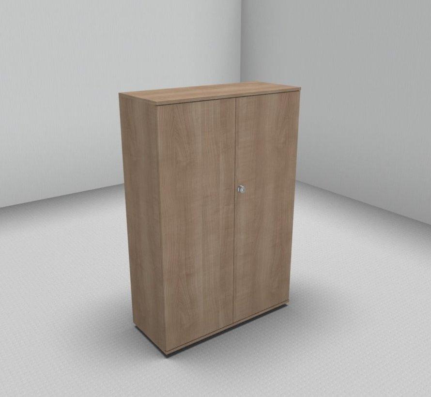 Hochwertiger Drehtürenschrank mit 4 Ordnerhöhen, 100cm breit