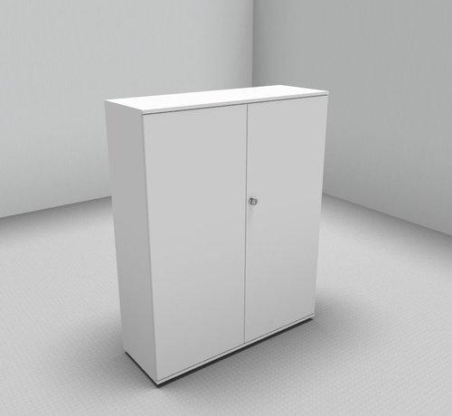 Serie MA  Hochwertiger Drehtürenschrank mit 4 Ordnerhöhen, 120cm breit