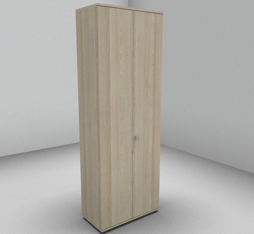 Hochwertiger Drehtürenschrank mit 6 Ordnerhöhen, 80cm breit