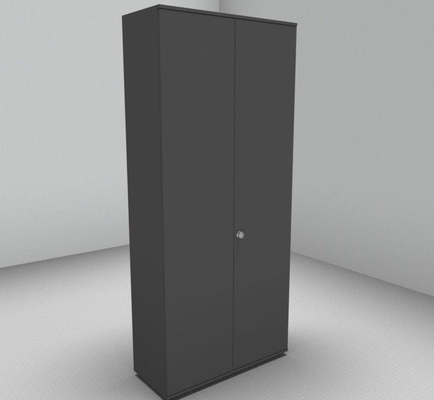 Hochwertiger Drehtürenschrank mit 6 Ordnerhöhen, 100cm breit