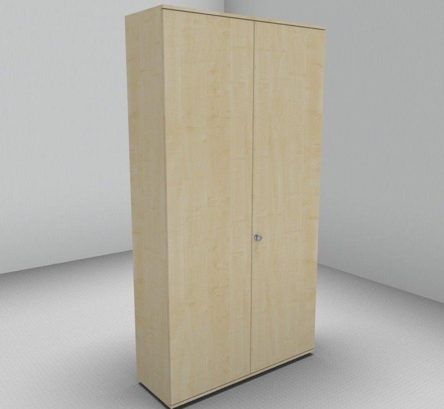 Hochwertiger Drehtürenschrank mit 6 Ordnerhöhen, 120cm breit