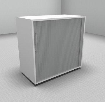 Serie MA  Querrollladenschrank 2OH silber - 80cm breit