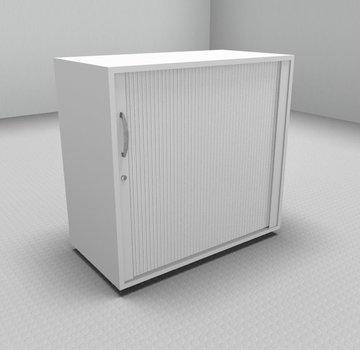 Serie MA  Querrollladenschrank 2OH weiß - 80cm breit