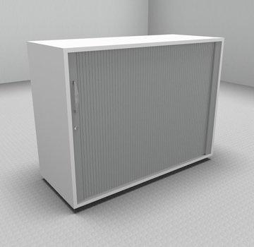 Serie MA  Querrollladenschrank 2OH silber - 100cm breit