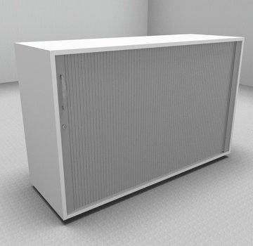 Serie MA  Querrollladenschrank 2OH silber - 120cm breit