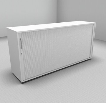 Serie MA  Querrollladenschrank 2OH weiß - 160cm breit