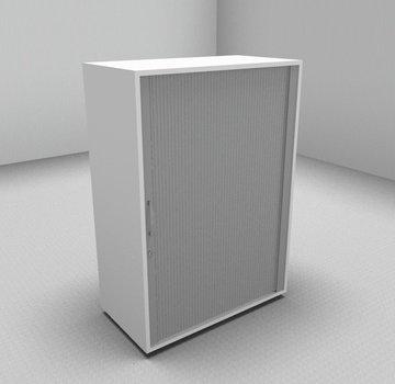 Serie MA  Querrollladenschrank 3OH silber - 80cm breit
